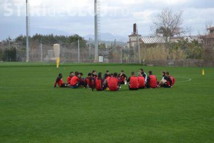 """Conducerea """"U"""" Cluj și-a pedepsit jucătorii după eșecul cu ASA Tg. Mureș. Doi fotbaliști au fost trimiși la echipa secundă"""