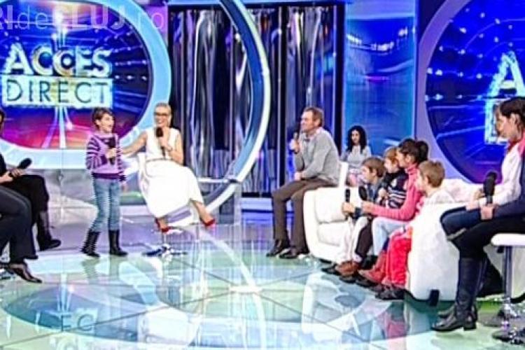 Gigi Becali a intervenit la o emisiune TV și a donat o casă unei familii