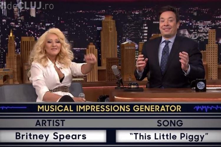 Christina Aguilera imitând cu succes o serie de artiști celebri - VIDEO