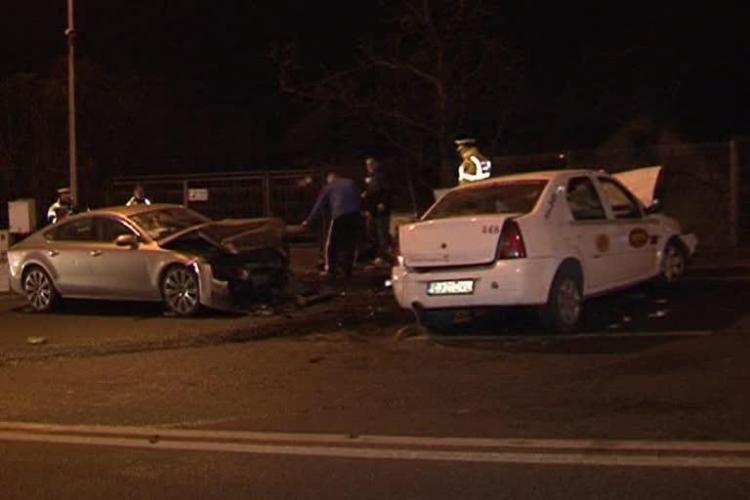 Un interlop clujean BEAT a produs un accident pe Calea Turzii. Ochiu Mic a fugit acasă - VIDEO
