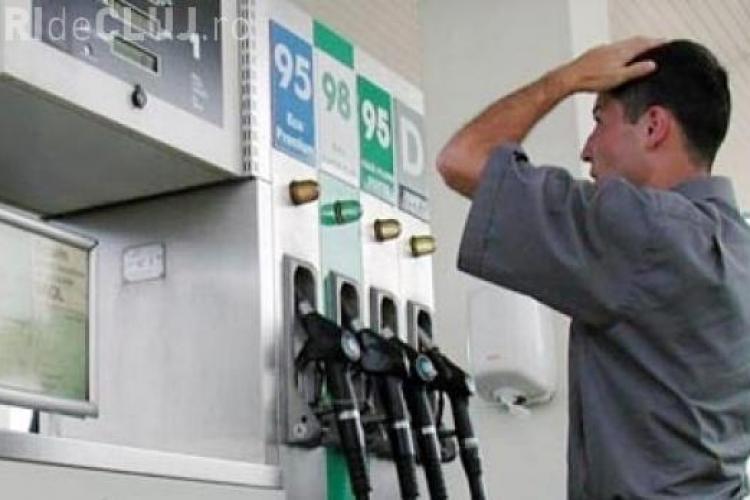 Prețul benzinei a explodat