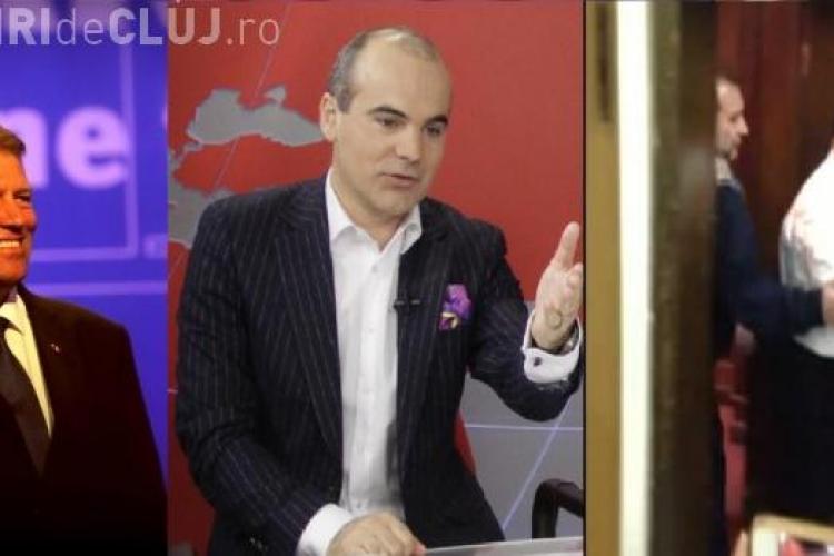DNA spune de ce au apărut Klaus Iohannis şi Rareş Bogdan în referatul de arestare a lui Vanghelie