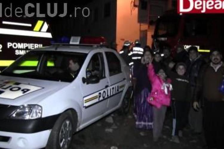 Un rom a pus pe jar echipajele de intervenție de la Dej. A mințit că s-a prăbușit o clădire peste două persoane VIDEO