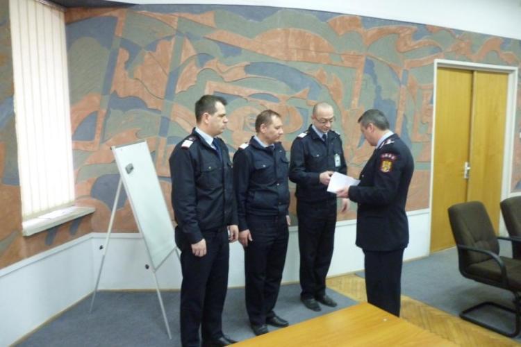 Subofițeri de la ISU Cluj avansați în grad de ZIUA PROTECŢIEI CIVILE DIN ROMÂNIA