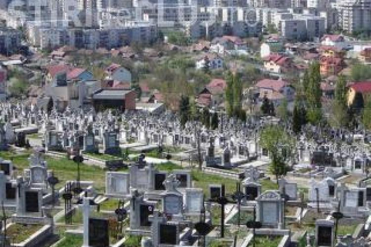 Primăria Cluj-Napoca mută morții din Cimitirul Mănăștur. De trei ani nu s-a găsit nicio soluție