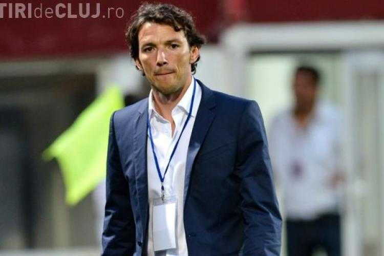 Walter l-a demis pe Ogăraru. Cine vine antrenor: Reghecampf, Adrian Falub sau Cristi Pojar