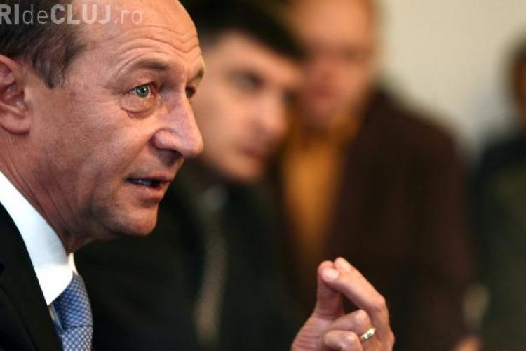 Traian Băsescu este urmărit penal pentru ameninţare