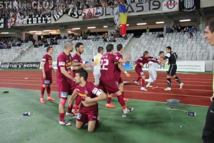 DNA investighează un meci legendar dintre U Cluj - CFR Cluj. Acuzațiile sunt de BLAT
