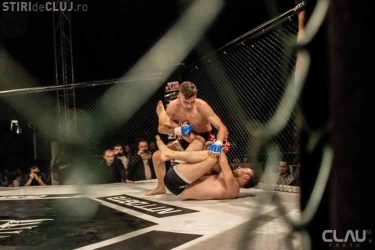 Sportivii de la Tengu au dominat Gala MMA de la Cluj - FOTO