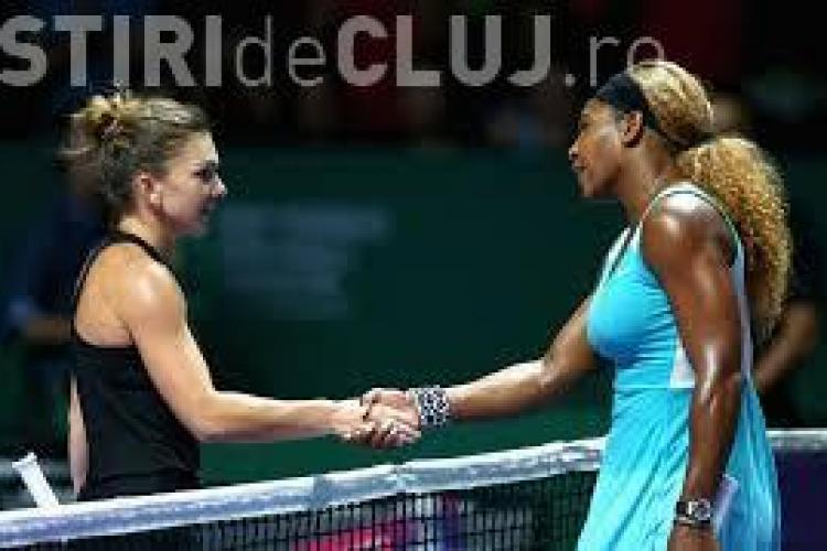 Simona Halep vs Serena Williams. Vezi când are loc meciul