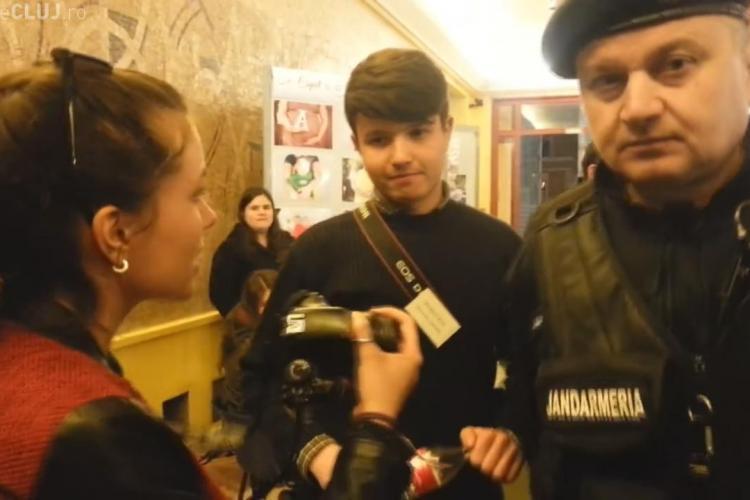 Scandal și BĂTĂI la Cluj-Napoca, la o conferință pe tema avortului - FOTO și VIDEO