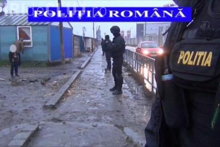 Razii de amploare în Cluj! Polițiștii au reținut 10 persoane