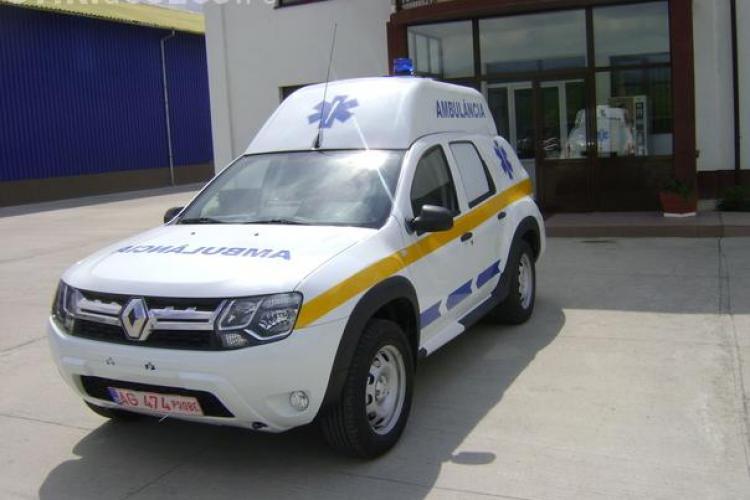 Cum arată prima ambulanță Duster - FOTO