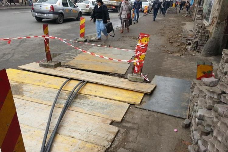 Strada Memorandumului intră în reparații. Stațiile de autobuz se mută