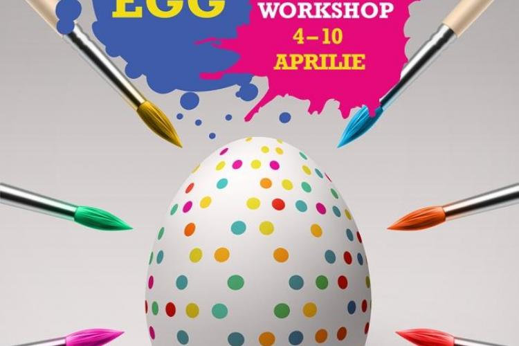 Atelier de încondeiat ouă și târg de Paște la Iulius Mall Cluj. Vezi când va avea loc târgul de Paște