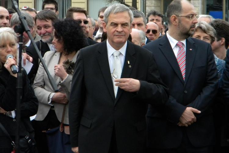 De la Cluj, Laszlo Tokes îi cere lui Klaus Iohannis să apere autonomia etnică: A fost ales și de către etnicii maghiari