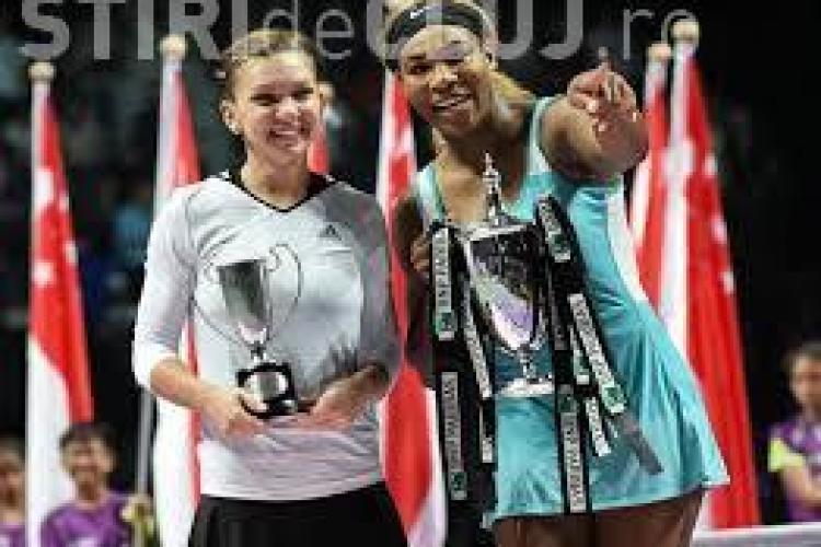 Simona Halep joacă împotriva Serenei Williams la Indian Wells