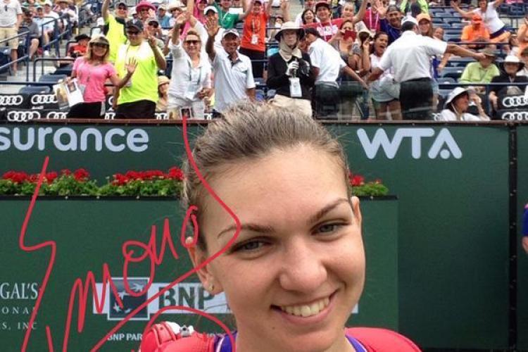Simona Halep s-a calificat în finala de la Indian Wells fără să mai joace cu Serena Williams. Ce s-a întâmplat