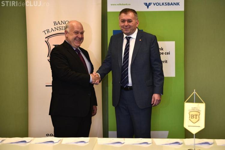 Banca Transilvania a cumpărat o altă bancă din România
