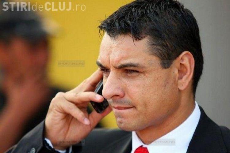 Noi probleme în fotbalul clujean! Ionel Ganea a mers la DNA să facă plângere împotriva Universității Cluj