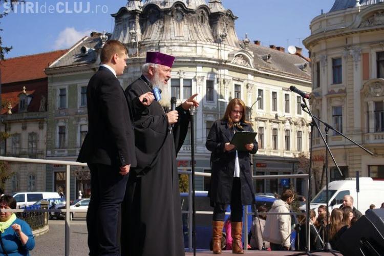 Sfatul Mitropolitului Clujului: Fiecare familie să aibă trei copilași - unul să fie pentru Biserică și pentru țară