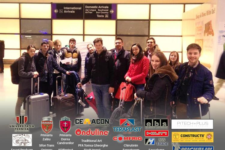 O echipă de studenți de la Cluj a bătut unele dintre cele mai prestigioase universități din lume la un concurs în SUA FOTO VIDEO