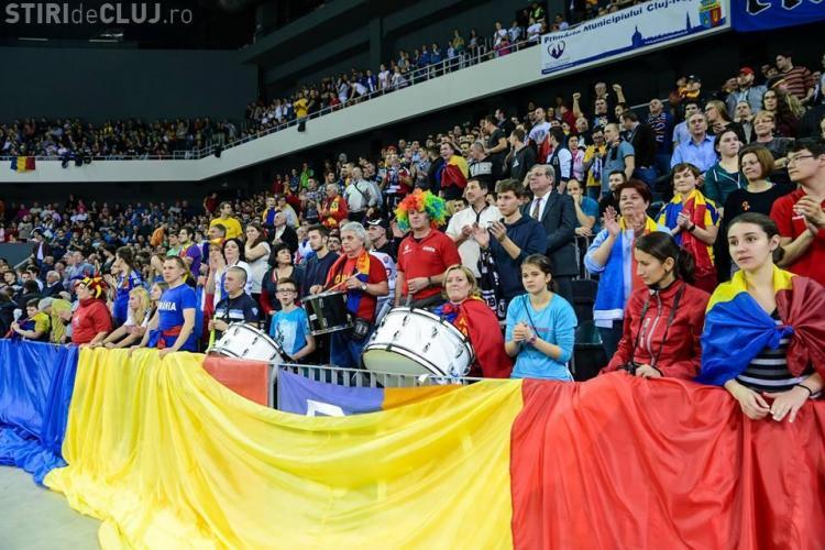 România s-a calificat în finala Trofeului Carpați! Asistență RECORD în Sala Polivalentă din Cluj-Napoca - FOTO