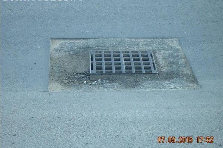 Eficiența drumarilor din Cluj nu cunoaște limite! Au săpat pe Traian Vuia și așa au lăsat