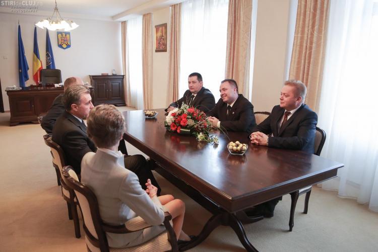 Principesa Margareta și Principele Radu, cetățeni de onoare ai județului Cluj - FOTO