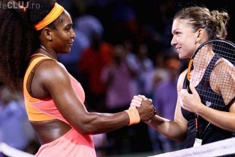 Simona Halep, învinsă la muchie de cuțit de Serena Williams. Cum o laudă numărul 1 mondial REZUMAT VIDEO