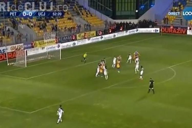 Petrolul - U Cluj 1-0 - REZUMAT VIDEO - U Cluj se află în zona retrogradabilă