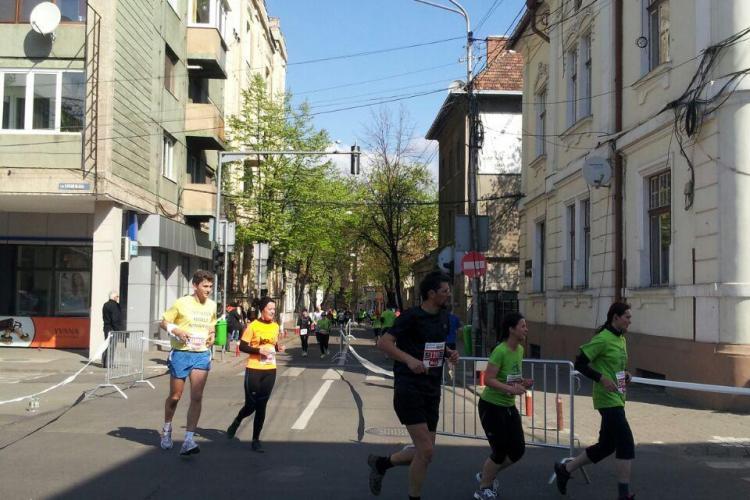 A început Maratonul Clujului! Ce străzi trebuie să eviți