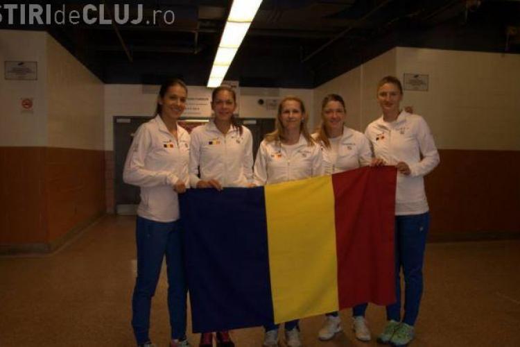 Victorie SENZAȚIONALĂ a echipei României la Fed CUp. Le-au bătut pe canadience fără Simona Halep