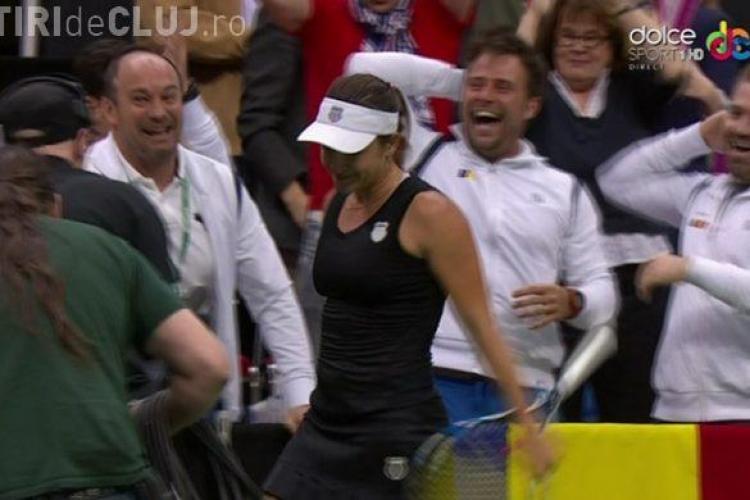 Victorie fabuloasă a Alexandrei Dulgheru la Fed Cup! CUm a ironizat-o pe Eugenie Bouchard