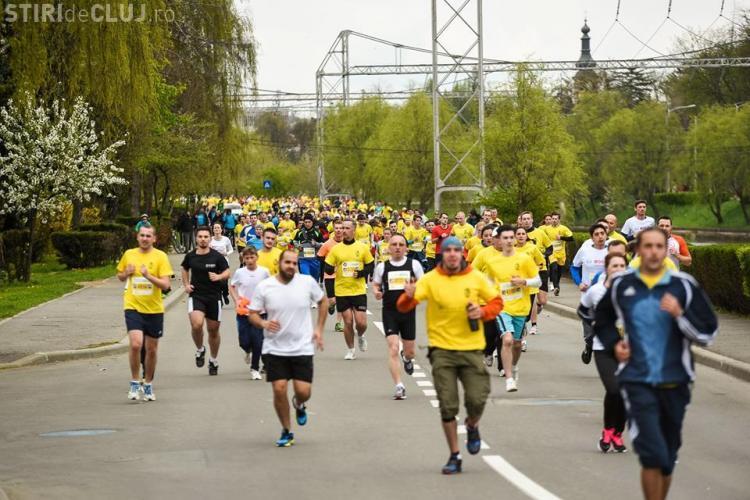Peste 3.500 de oameni au participat la Maratonul Internațional Cluj. Cine a fost cel mai rapid clujean