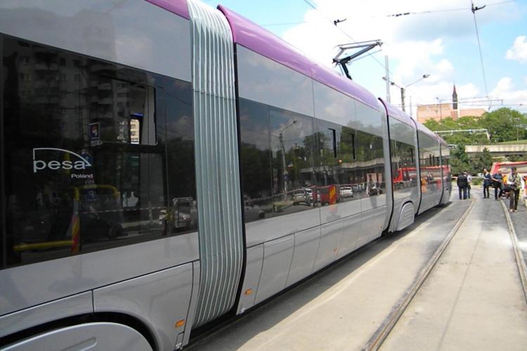 CTP Cluj a suspendat două linii de tramvai. Cu ce se va circula de acum