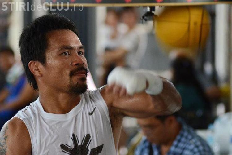 Pacquiao a mințit pentru a putea lupta cu Mayweather. A luptat accidentat