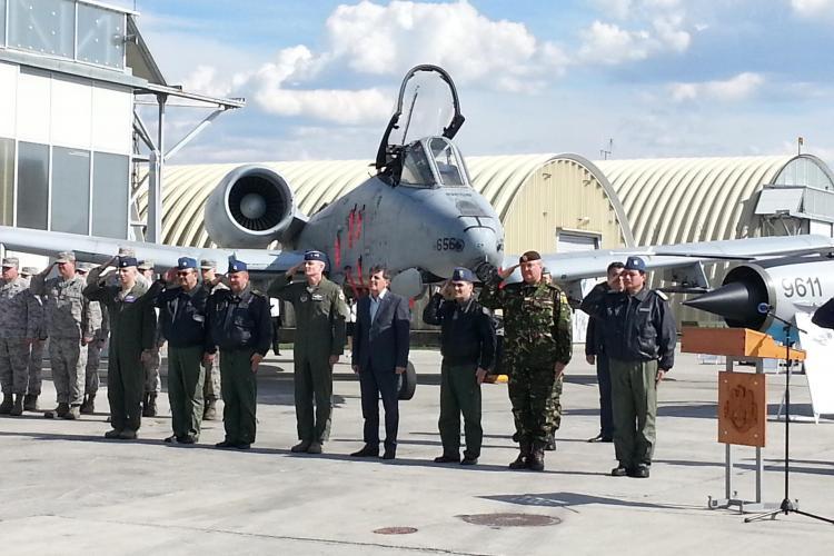 Se modernizează baza aeriană de la Câmpia Turzii. Mircea Dușa: De la anul vin avioanele F-16 FOTO