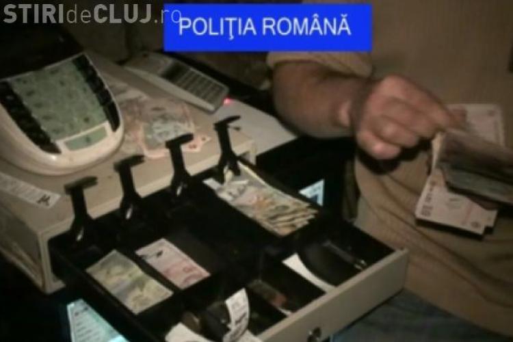 Razie a Poliției Economice Cluj înainte de Paște
