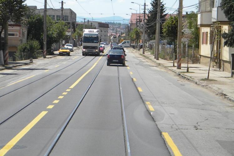 Noi restricții de circulație pe strada Oașului, din cauza lucrărilor de modernizare