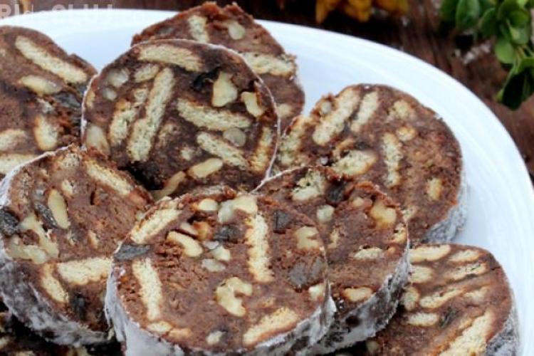 Cum să faci salam de biscuiţi cu puţine ingrediente