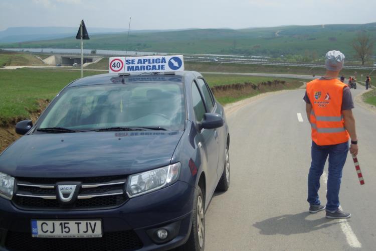 Se trasează drumurile județene din Cluj. Unde se lucrează - FOTO