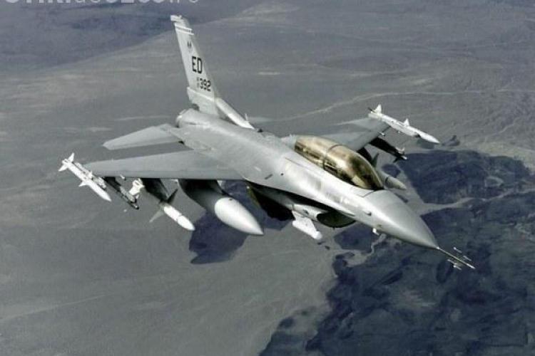 NATO a trimis patru avioane F-16 la Câmpia Turzii