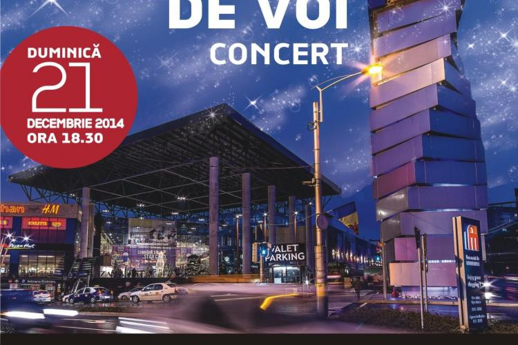 Concert al Operei Române la Iulius Mall, înainte de Crăciun (P)
