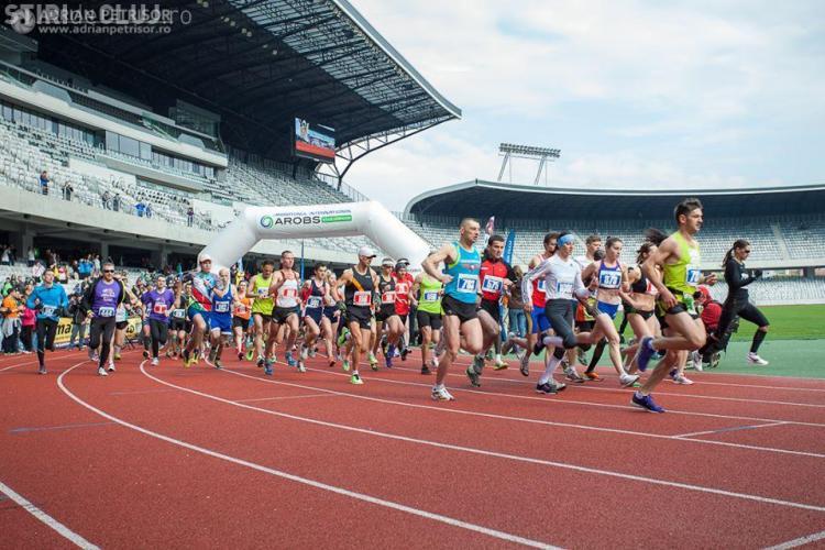 PROGRAM Maratonul Internațional Cluj 2015: Traficul rutier va fi închis în 19 aprilie
