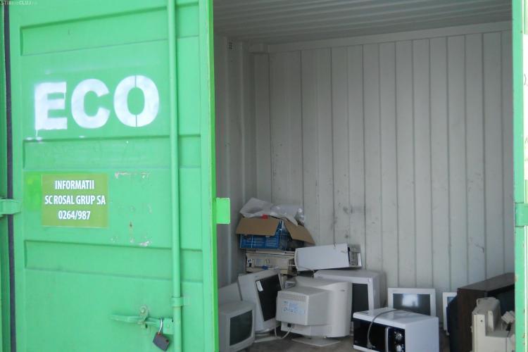 Campanie de colectare a deșeurilor electronice și electrocasnice la Cluj. Vezi unde poți duce aparatura de care vrei să scapi