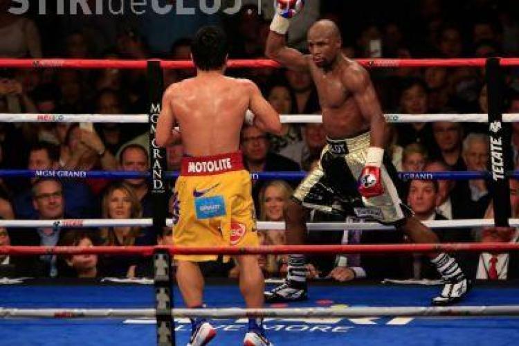 Cum arată Mayweather la două zile de la lupta cu Pacquiao - FOTO
