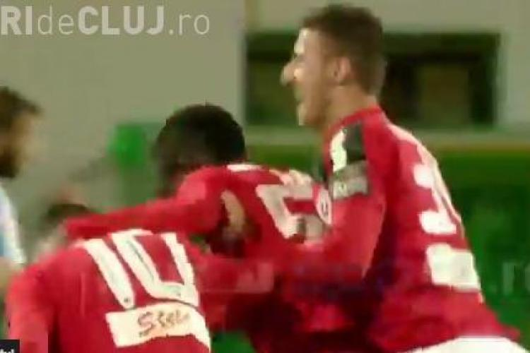 """""""U"""" Cluj a făcut egal acasă la Viitorul Constanța. S-au dat două goluri în două minute REZUMAT VIDEO"""