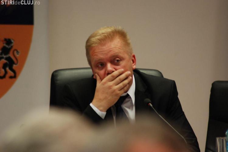 Ioan Oleleu și-a dat DEMISIA din funcţia de vicepreşedinte al Consiliului Judeţean Cluj