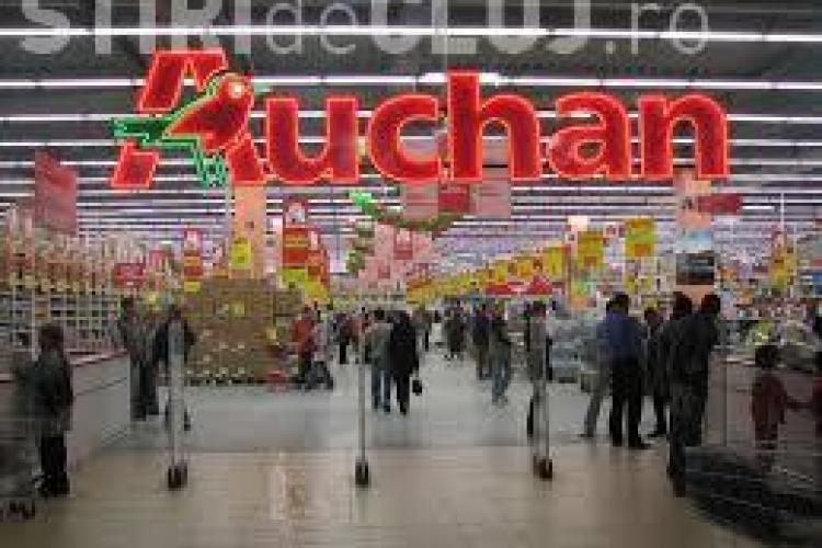 Supermarketul Auchan Cluj va fi închis în ziua de Paște. Vezi programul
